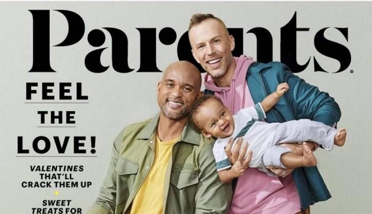 Por primera vez la revista Parents tiene en portada a una pareja de padres homosexuales