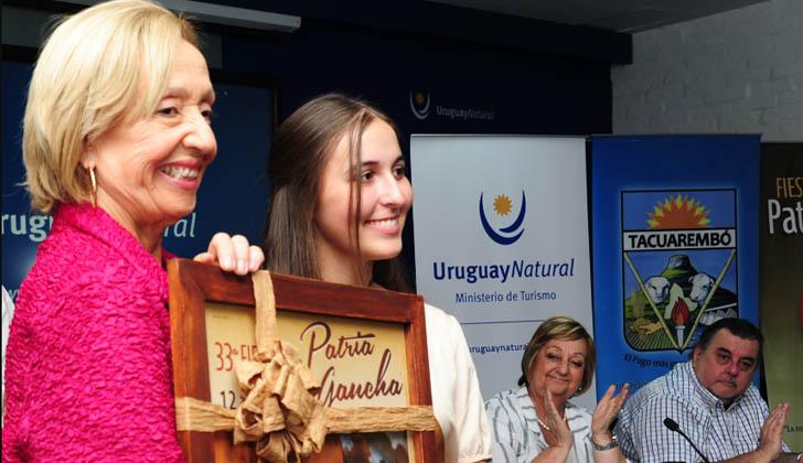 Presentación de la Fiesta de la Patria Gaucha. Foto: Presidencia de la República.