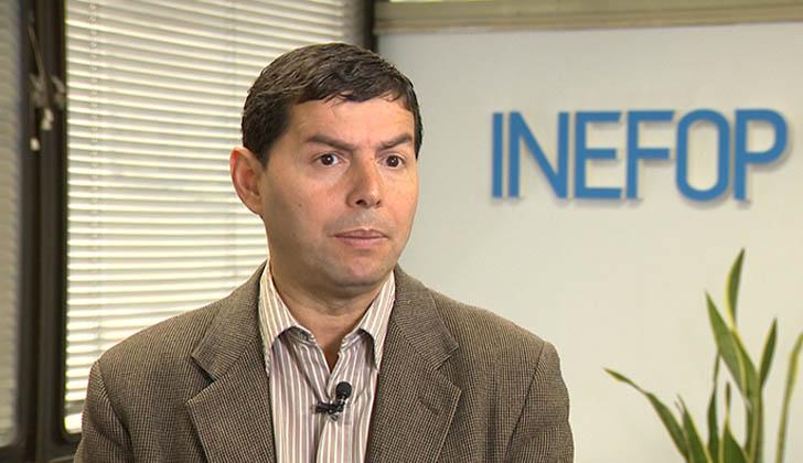 Director nacional de Empleo y de INEFOP, Eduardo Pereyra.