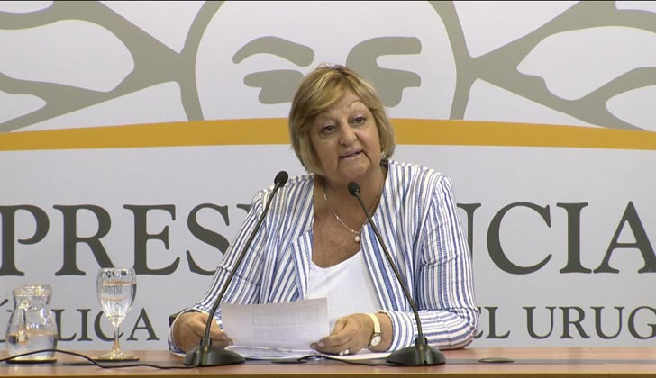 La ministra de Turismo, Liliam Kechichian, presentó datos oficiales sobre la temporada enero 2019. Foto Presidencia de la República.