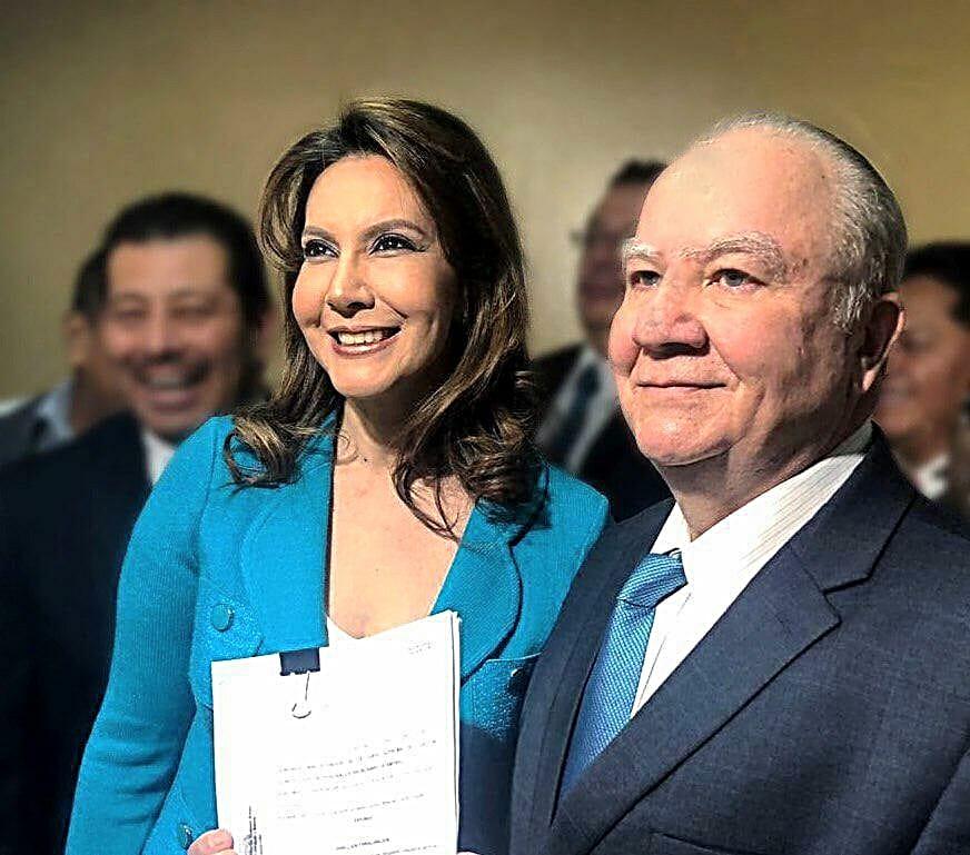 Zury Ríos es hija del ex dictador guatemalteco Efraín Ríos Montt. Foto: Facebook