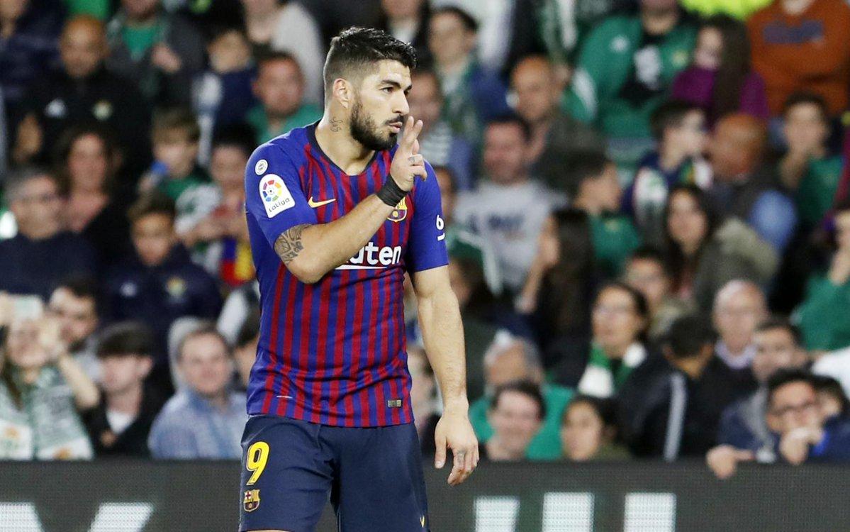 Luis Suárez causará baja 15 días por esguince