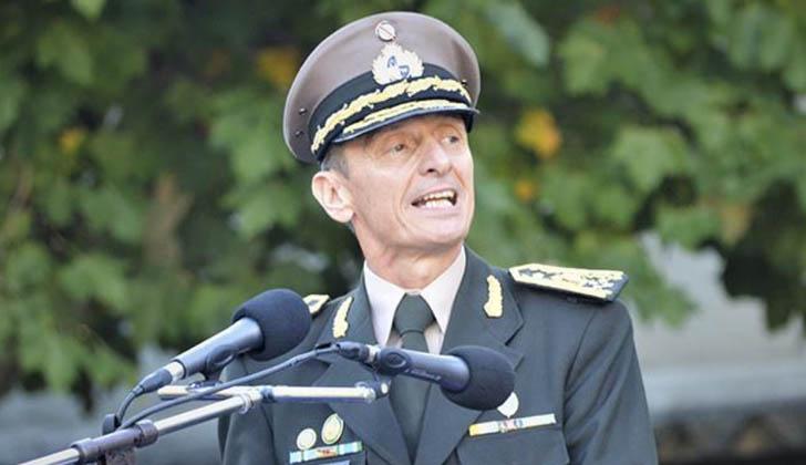 Comandante en jefe del Ejército, José González. Foto: Ejército Nacional.