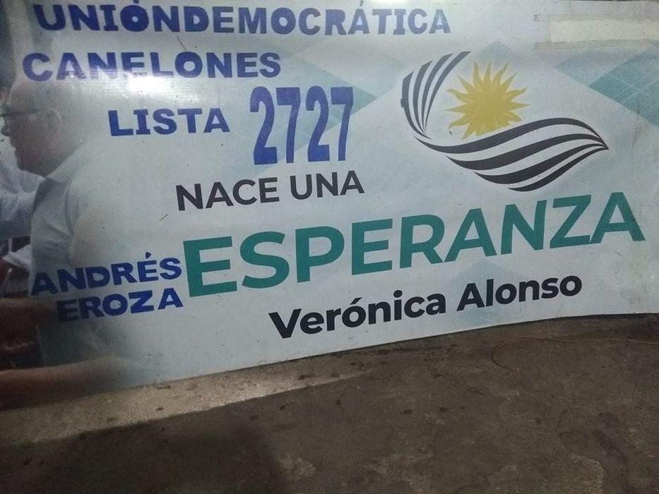 Foto tomada de las redes sociales de Andrés Eroza