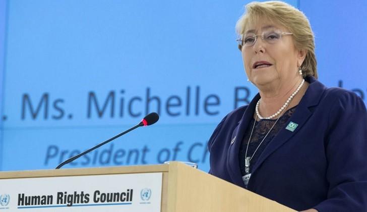 Bachelet presentó su informe sobre Venezuela como alta comisionada de DDHH de la ONU.