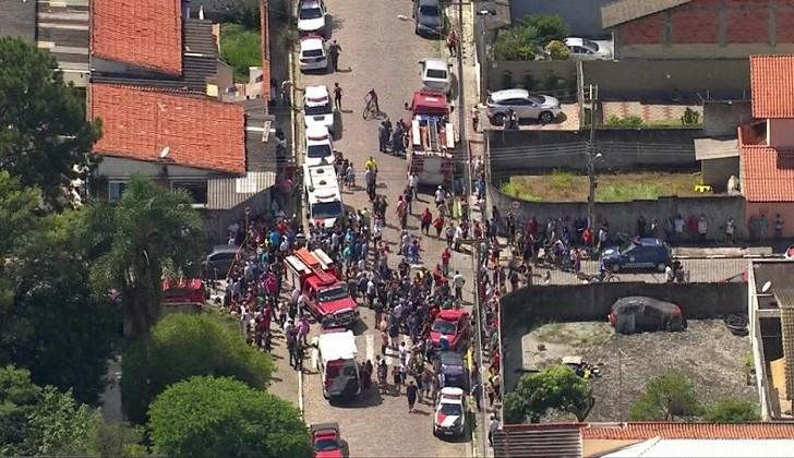 Tiroteo en una escuela de Brasil, al menos cinco alumnos muertos