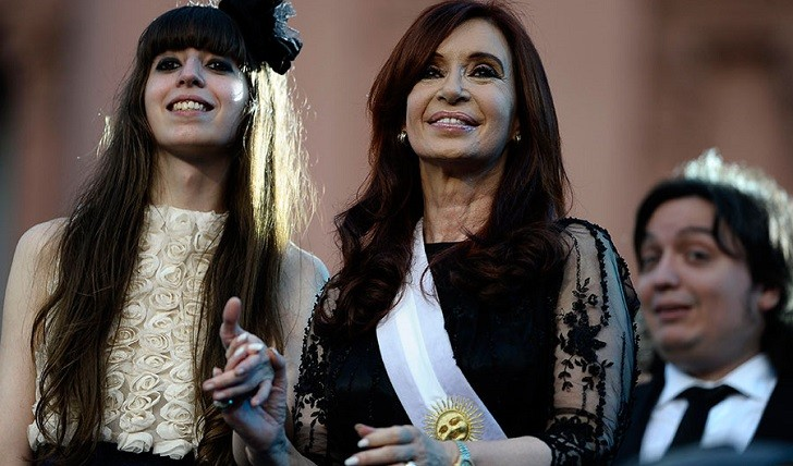 CFK viajó a Cuba por el estado de salud de su hija Florencia. Foto de archivo.