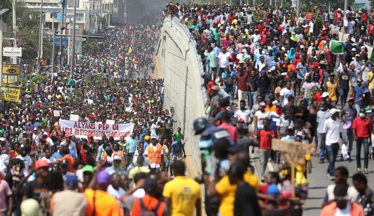 Oposición de Haití llama a una nueva movilización para el 29 de marzo