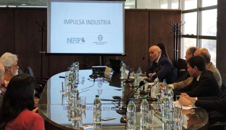 """Presentación del proyecto """"Impulsa Industria""""."""