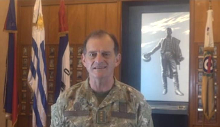 Ex comandante en jefe del Ejército, Guido Manini Ríos.