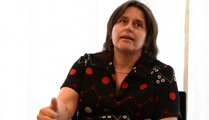 Coordinadora del programa Ampliación del Tiempo Escolar (ATE) de la Administración Nacional de Educación Pública (ANEP), Gladys Marquisio.