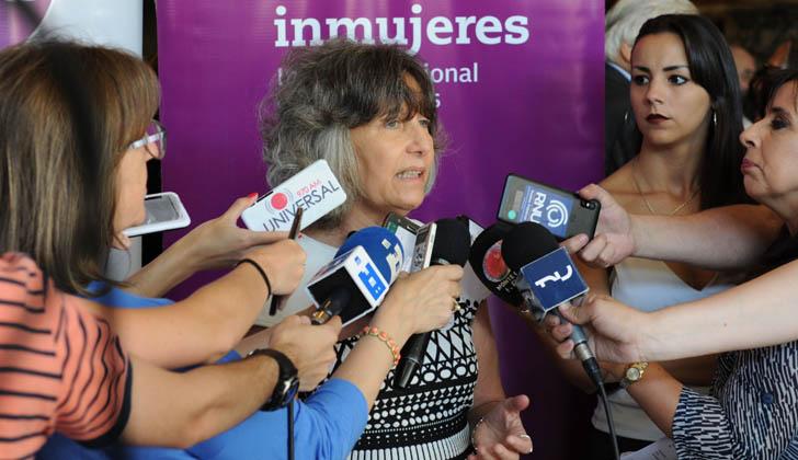 Directora del Instituto Nacional de las Mujeres (INMUJERES), Mariella Mazzotti. Foto: Presidencia de la República.