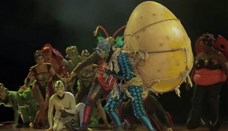 Cirque Du Soleil presentará Ovo en ANTEL Arena.