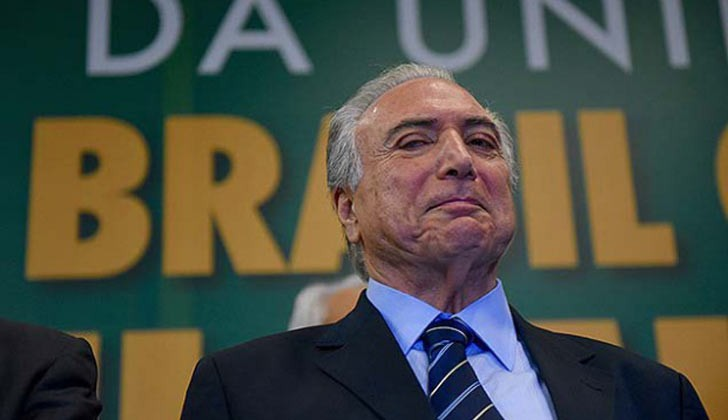 La Justicia brasileña revocó la detención preventiva de Temer.