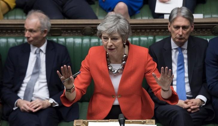 El Parlamento británico rechaza por segunda vez el pacto de Brexit de May