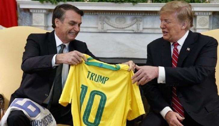 """Venezuela acusa a Trump y Bolsonaro de hacer """"apología de la guerra"""""""