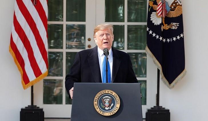"""Trump: """"Es hora de que EE.UU. reconozca la soberanía israelí sobre los Altos del Golán""""."""