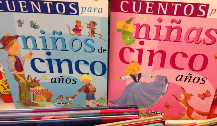 Escuela de Barcelona retira 200 cuentos infantiles por reproducir estereotipos sexistas. Foto ilustrativa.