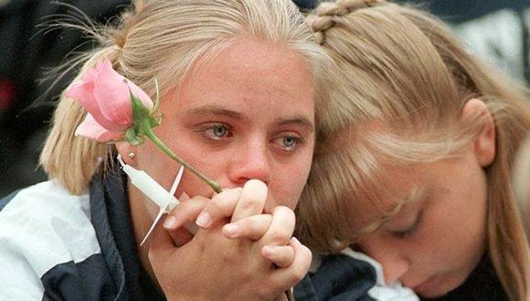 En la masacre de Columbine murieron 12 jóvenes. Foto cortesía de la BBC