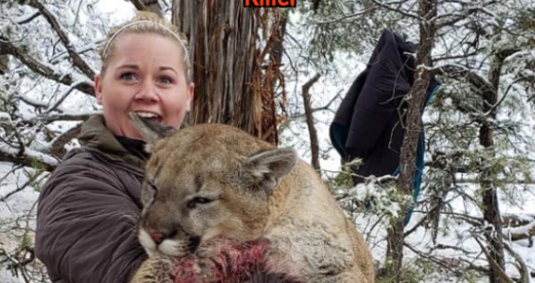 f27da006c33 La cazadora que encendió las redes sociales por asesinar a un león ...