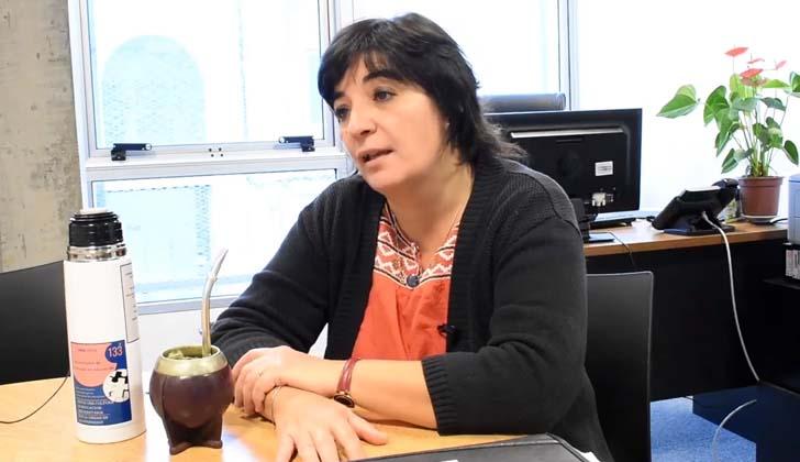 Consejera docente del Consejo de Formación y Educación (CFE), Rosana Cortazzo.