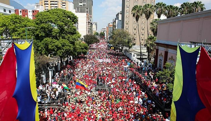 PSUV llama a movilización para celebrar la salida de Venezuela de la OEA