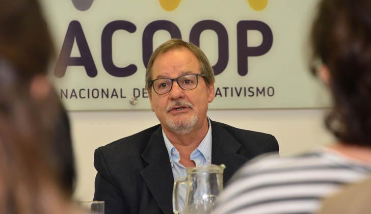Presidente del INACOOP, Gustavo Bernini. Foto: Presidencia de la República.