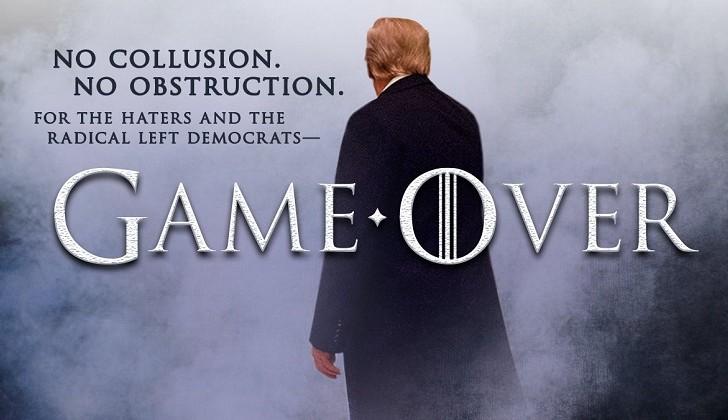 """""""Game over"""": Fiscal general de EE.UU. afirma que """"no hay evidencia de colusión"""" entre Rusia y Trump"""