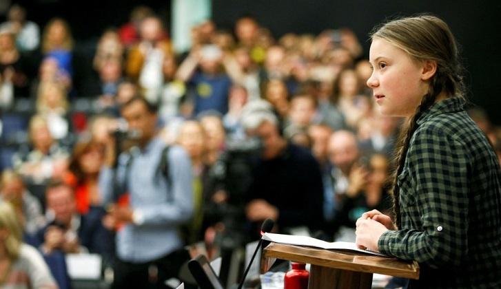 Discurso completo de la activista de 16 años, Greta Thunberg, ante el Parlamento británico