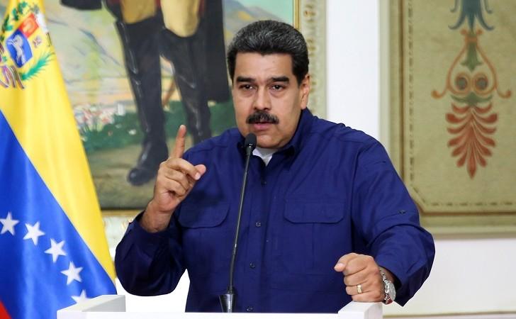 """Maduro a Estados Unidos: """"Sus sanciones nos dan más fuerza""""."""
