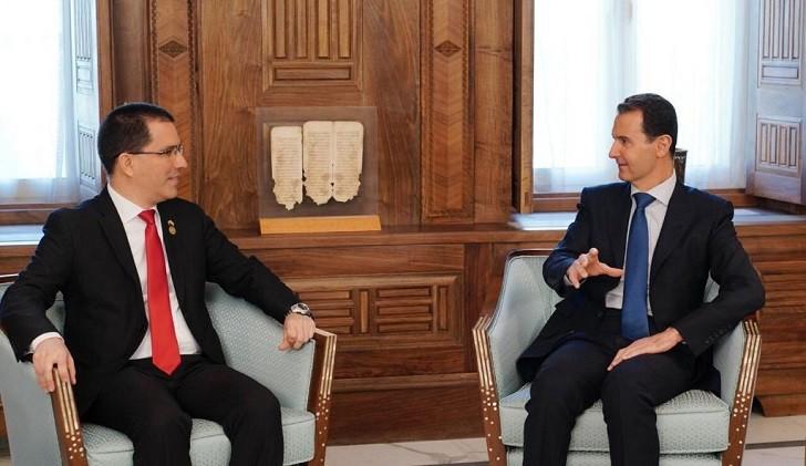 Para el presidente sirio EEUU sigue una misma política en Siria y Venezuela