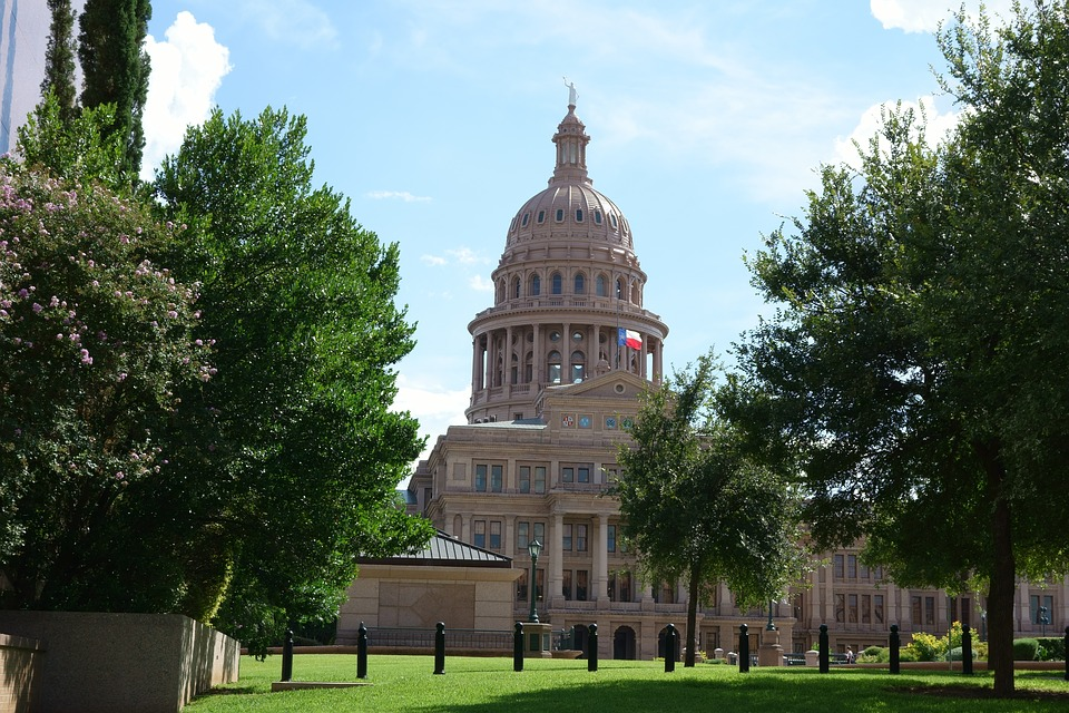 Capitolio de Texas, sede del congreso estatal. Foto: Pixabay