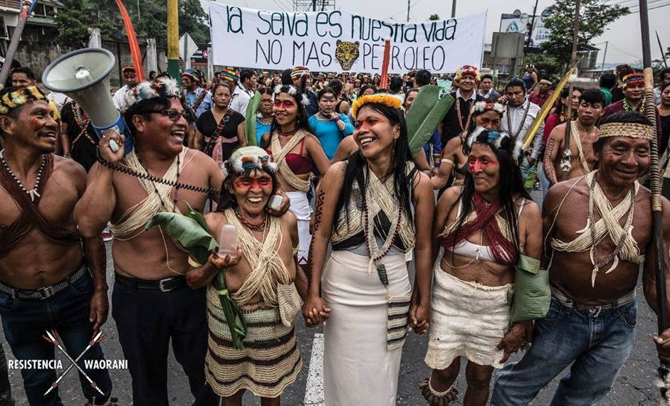 Foto: Waorani Resistencia Pastaza