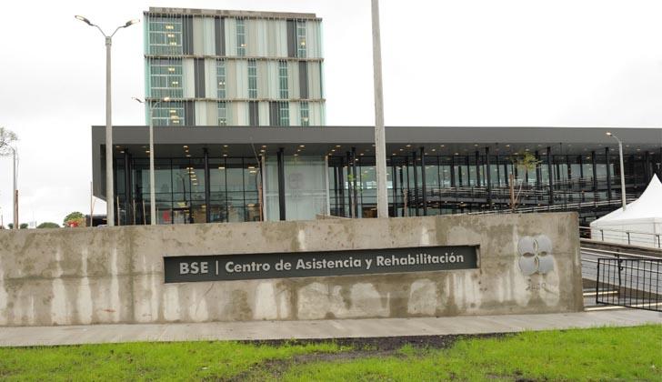Nuevo hospital del Banco de Seguros del Estado. Foto: Presidencia de la República.