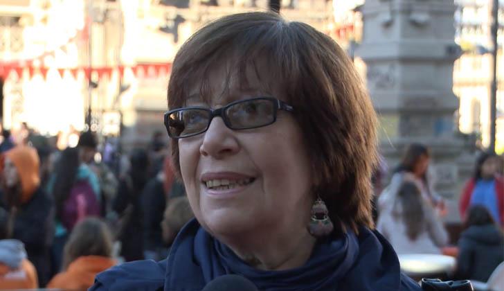 Ministra de Desarrollo Social, Marina Arismendi.