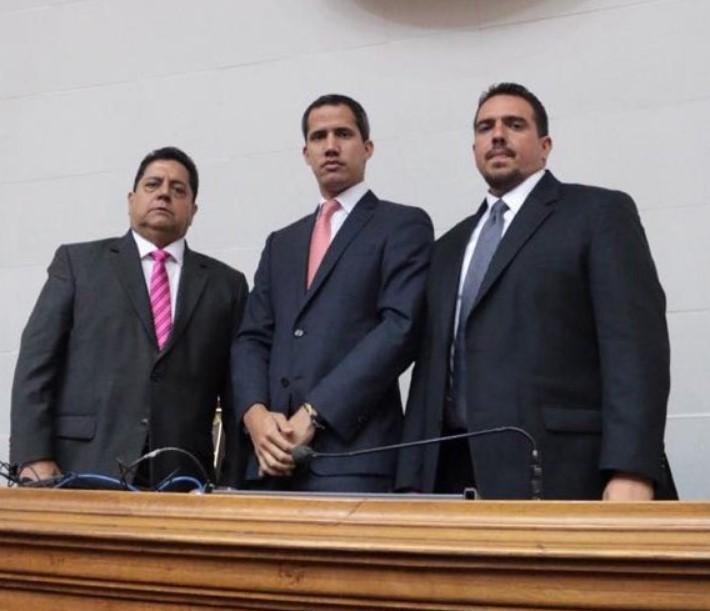Juan Guaidó pide a la Unión Europea aplicar más sanciones hacia Maduro