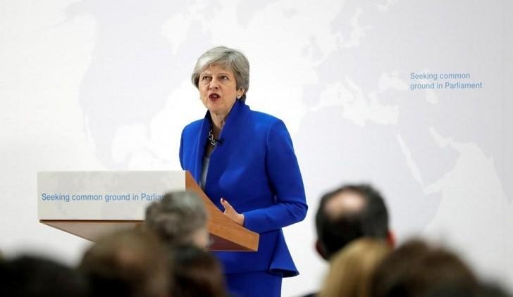 May abre la puerta para un segundo plebiscito sobre el Brexit