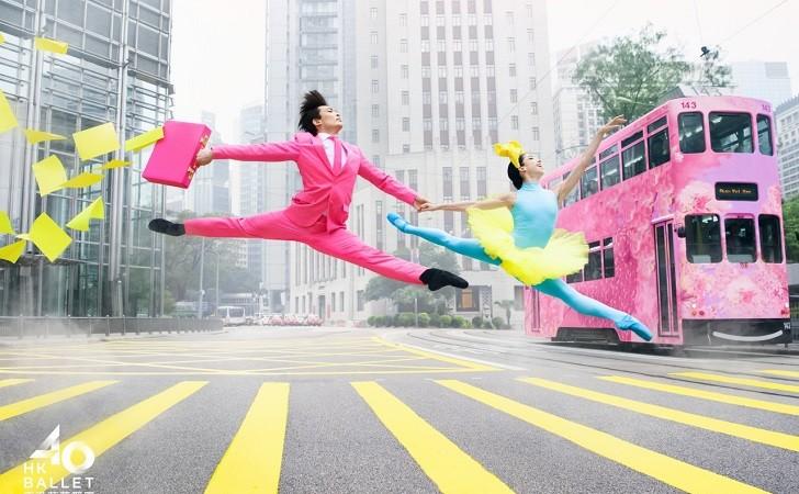 El Hong Kong Ballet celebra sus 40 años con un original spot