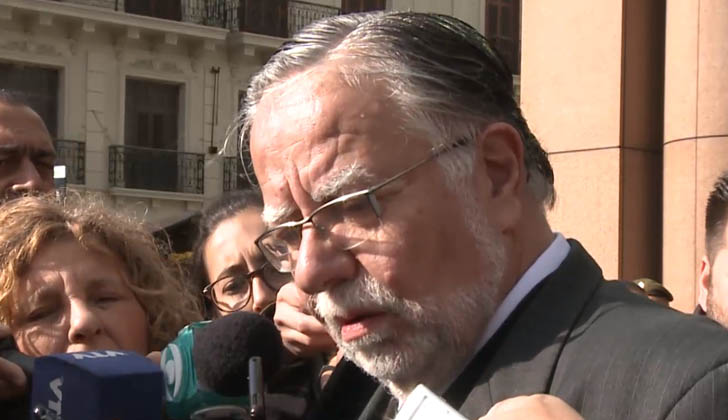 Ministro de Defensa Nacional, José Bayaradi.
