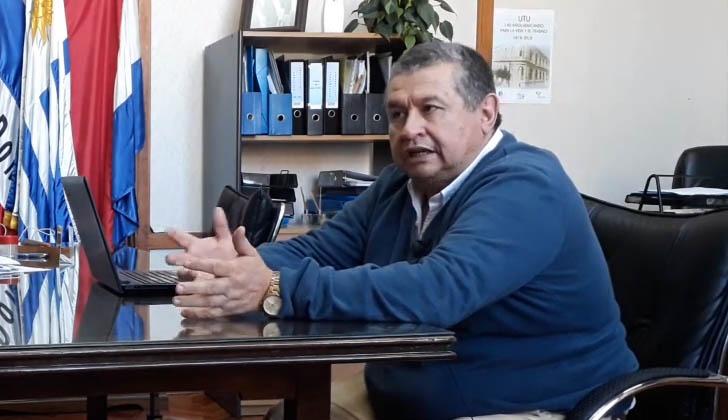 Freddy Amaro, coordinador de los Centros Educativos Asociados.