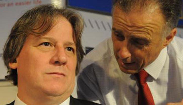 Fernando Lorenzo junto a Fernando Calloia. Foto: Archivo.
