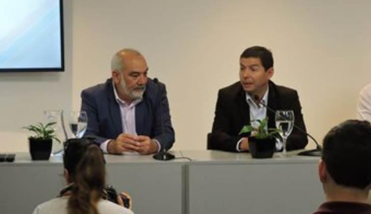 Wilson Netto y Fernando Pereyra.