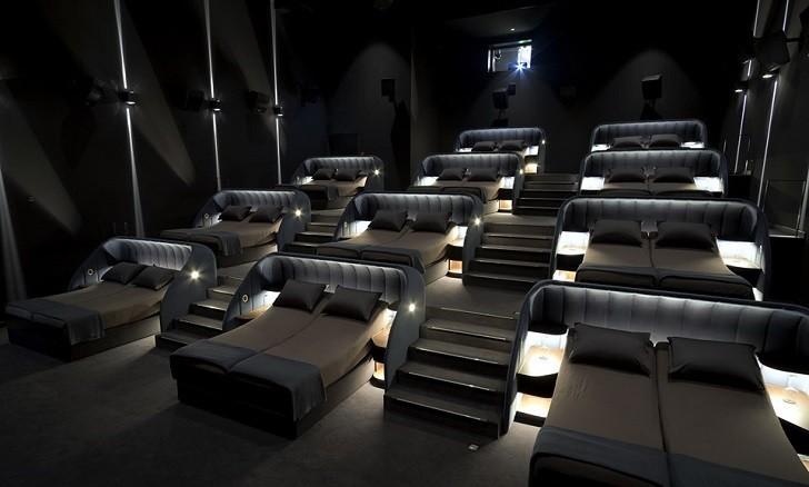 """""""VIP Bedroom Cinema"""" la original sala de cine en Suiza que en vez de asientos ofrece camas"""