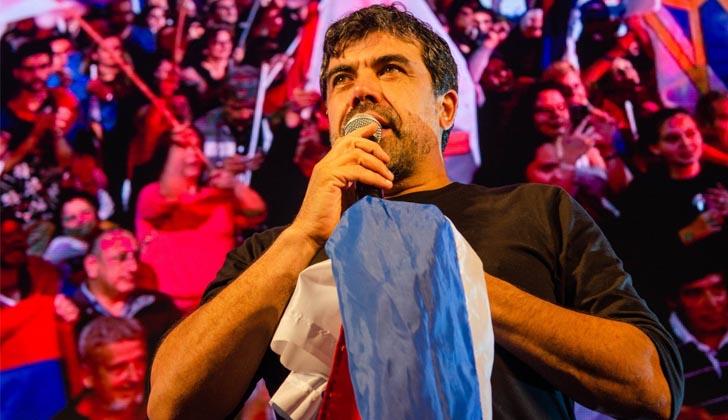 Óscar Andrade convoca a votar contra las desigualdades.