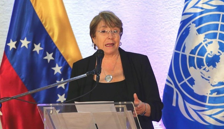 Bachelet deja instalada comisión de DD.HH. en Venezuela