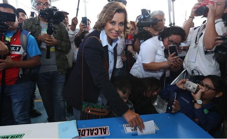 Sandra Torres gana la primera vuelta electoral en Guatemala