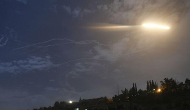 Israel confirmó haber bombardeado blancos militares de Siria