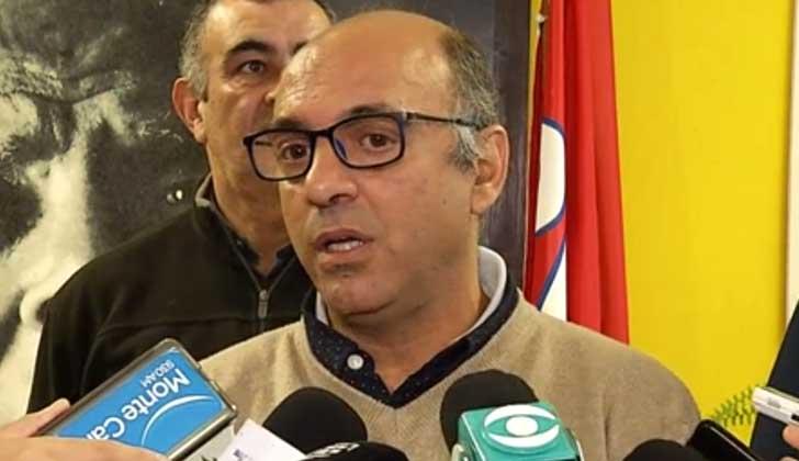 Secretario general del PIT-CNT, Marcelo Abdala.