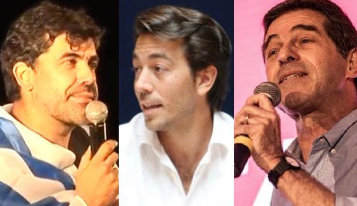 Andrade, Sartori y Talvi.