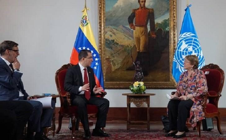 Michelle Bachelet realiza su primera visita a Venezuela como Alta Comisionada de la ONU